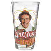 Elf Smiling Glass Cup