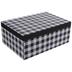 Black & White Buffalo Check Gift Box - 9 1/4