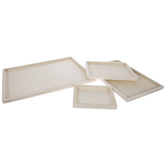 Rectangle Wood Tray & Wall Decor Set