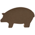 Friends & Family Welcome Metal Pig