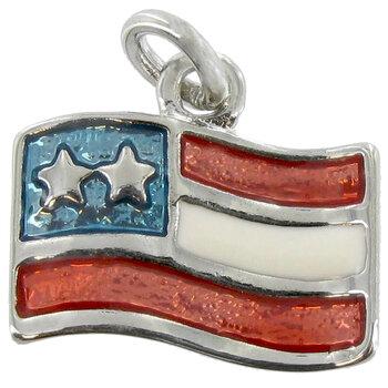 American Flag Charm
