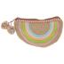 Rainbow Woven Cosmetic Bag