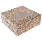 Orange & Green Leaves Pie Box