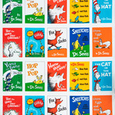 Dr. Seuss Book Panel Cotton Fabric