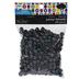 Black AB Plastic Pony Beads
