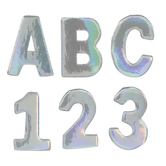 Holographic Alphabet Letters - Small