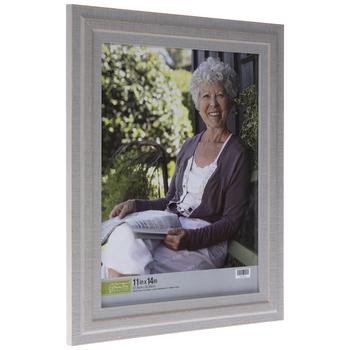 Distressed Gray Ridged Wall Frame
