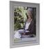 Distressed Gray Ridged Wall Frame - 11