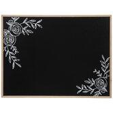 Floral Chalkboard