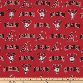 MLB Arizona Diamondbacks Cotton Fabric