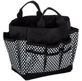 Black & White Polka Dot Mini Craft Tote Bag