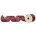 Red & Black Buffalo Check Wired Edge Ribbon - 2 1/2