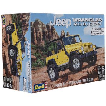 Jeep Wrangler Rubicon Model Kit