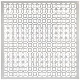"Elliptical Aluminum Metal Sheet - 12"" x 12"""