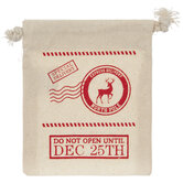 Special Delivery Drawstring Gift Card Holder