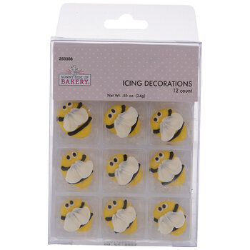 Bumble Bee Icing Decorations