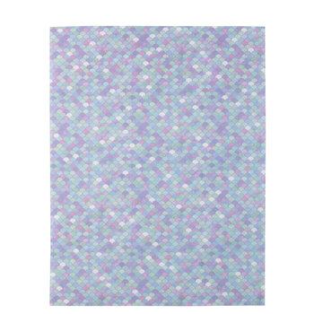 "Tiny Mermaid Scales Vellum Paper - 8 1/2"" x 11"""