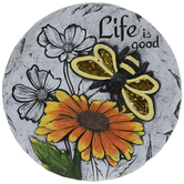 Life Is Good Bee Stepping Stone