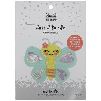 Felt Butterfly Needle Art Kit