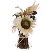 Sunflower & Raffia Bouquet