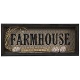 Egg & Wire Farmhouse Wood Wall Decor