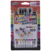 Tulip Watercolor Fabric Markers - 9 Piece Set