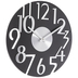 Black & Silver Art Deco Wall Clock