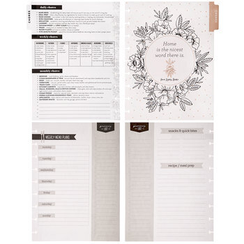 Household Extension Planner Pages