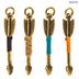 Thread-Wrapped Arrow Charms