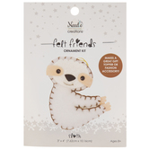 Stuffed Felt Sloth Needle Art Kit
