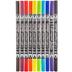 CalliCreative Brush Calligraphy Markers - 10 Piece Set