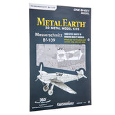 Messerschmitt MF-109 Metal Earth 3D Model Kit