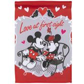 Valentine Minnie & Mickey Mouse Garden Flag