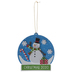 Snowman Snow Globe Ornaments Foam Craft Kit