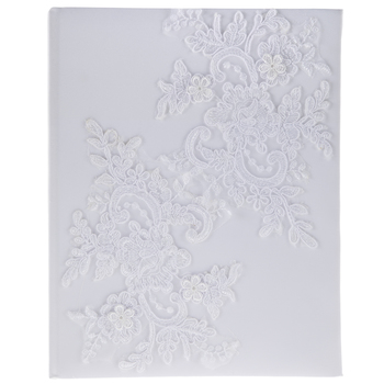 Embroidered Lace Memory Book