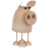 Bobble Metal Pig
