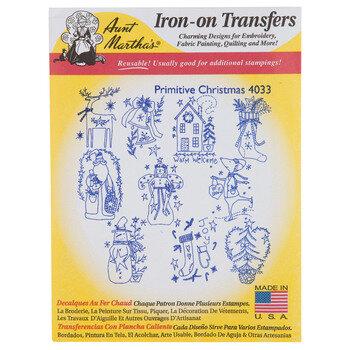 Primitive Christmas Iron-On Transfers