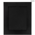 Charcoal Gray Antique Wood Wall Frame - 8