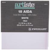 "18-Count Aida Cross Stitch Fabric - 11 3/4"" x 18"""