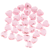 Heart Rhinestones - 15mm