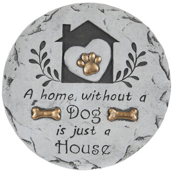 Home Without A Dog Stepping Stone
