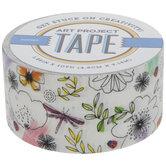 Bugs & Flowers Art Project Tape