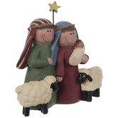 Holy Family & Sheep