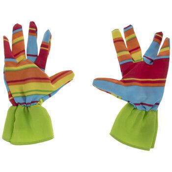 Striped Kids' Garden Gloves