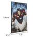 Iron Man Comic Wood Wall Decor