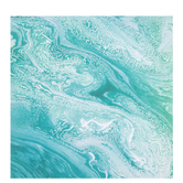 "Turquoise Marble Scrapbook Paper - 12"" x 12"""