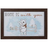 Home Is With You Winnie The Pooh Wood Wall Decor