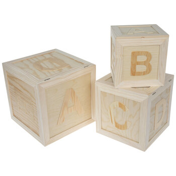Wood Abc Box Set Hobby Lobby 648857