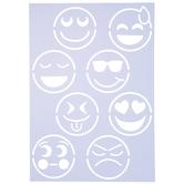 Emojis Stencil