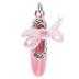 Pink Ballet Slipper Charm